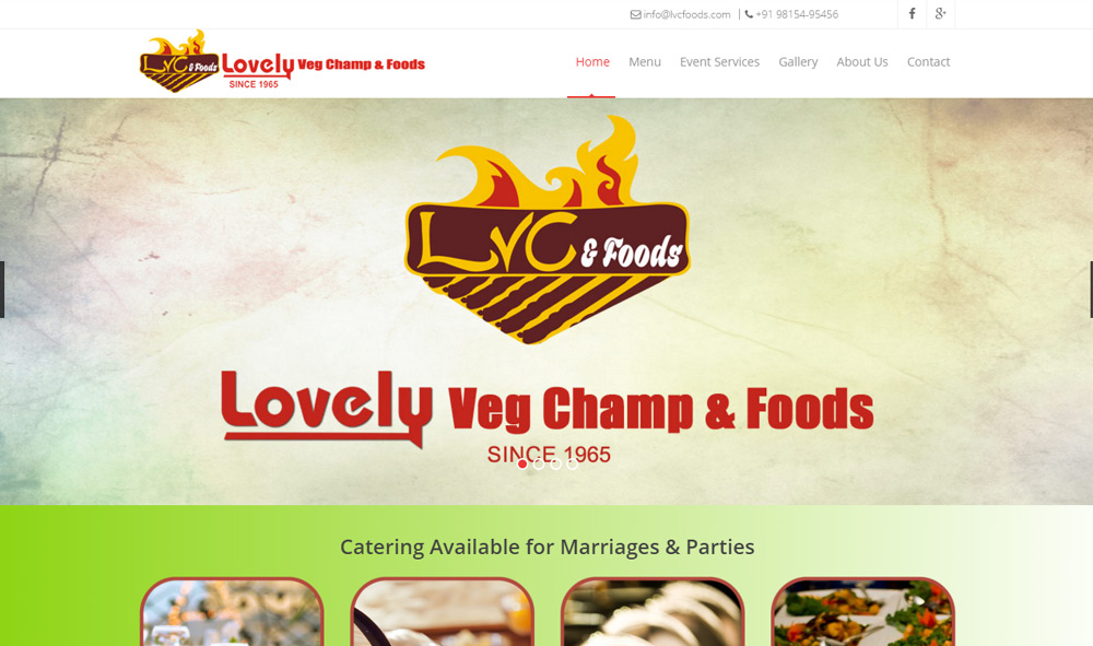 Lovely Veg Champ and Foods