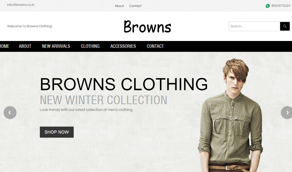 Browns Clothing